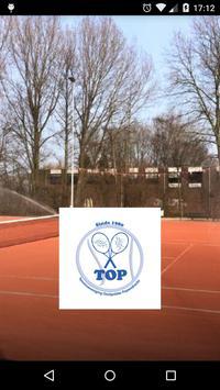 Tennisvereniging TOP poster