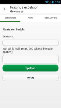 Bomenspotter Alphen a/d Rijn apk screenshot