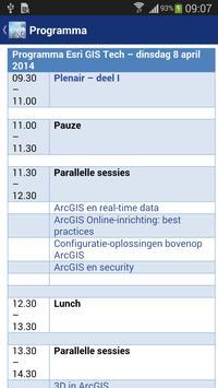 Esri GIS Tech 2014 apk screenshot