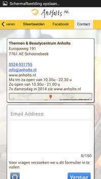 Thermen Beautycentrum Anholts apk screenshot
