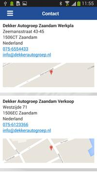 Dekkerautogroep apk screenshot