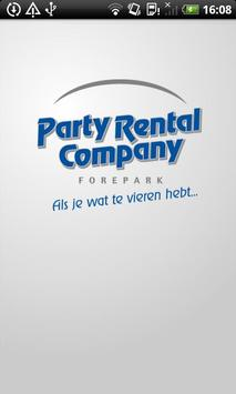 Party Rental Company poster