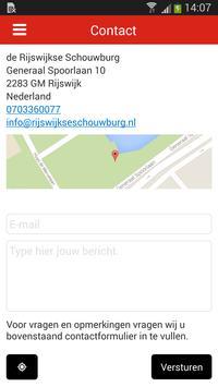 de Rijswijkse Schouwburg apk screenshot