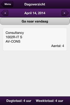 Utilize Time Entry apk screenshot