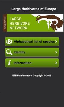 European Large Herbivores apk screenshot
