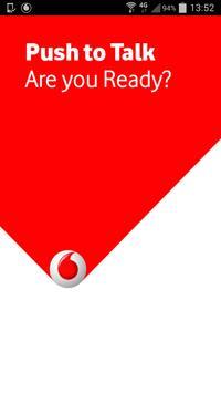 Vodafone Push To Talk poster