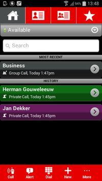 Vodafone Push To Talk apk screenshot