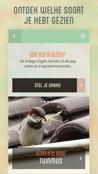 Vroege Vogels app poster