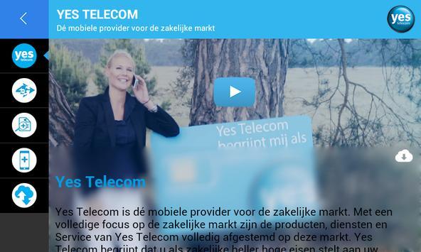 Yes Telecom apk screenshot