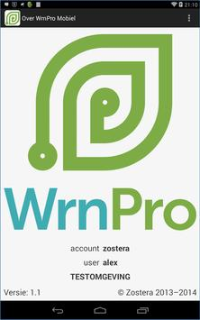 WrnPro Mobiel apk screenshot