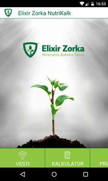 NutriKalk Elixir Zorka poster