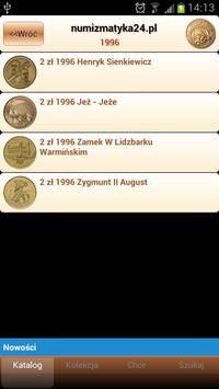 Numizmatyka24 apk screenshot