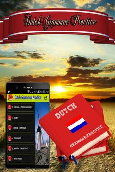 Dutch Grammar Practice apk screenshot