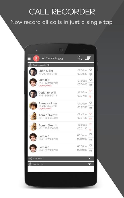 Automatic Call recorder APK Download - Free Productivity APP for ...