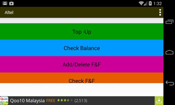 Altel apk screenshot