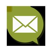 Speaking Email - voice reader icon
