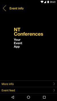 NT Conferences poster