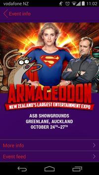 Armageddon Expo poster