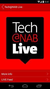 Tech@NAB Live 2015 poster