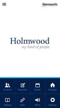 Harcourts Holmwood poster