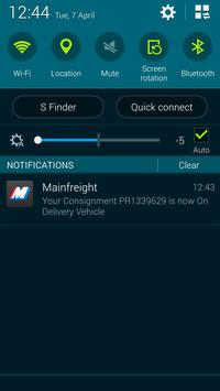 Mainfreight apk screenshot