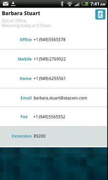 Zeacom Executive Mobile apk screenshot