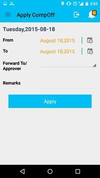 SmartOffice ESS apk screenshot