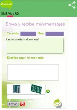 SMS Gratis Viva RD poster