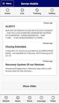 Sovran official mobile app apk screenshot