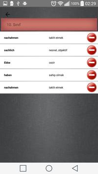 Almanca Türkçe Sözlük poster