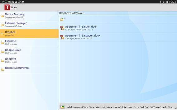 FREE Office: TextMaker Mobile apk screenshot