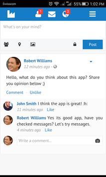 Social Network apk screenshot
