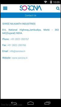 Sorona Sanitaryware apk screenshot