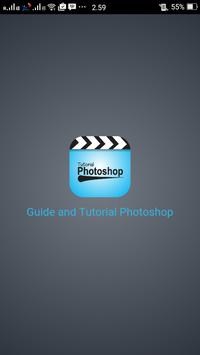 guide and tutorial photoshop poster
