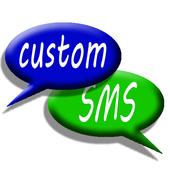 Custom SMS TextTone free icon