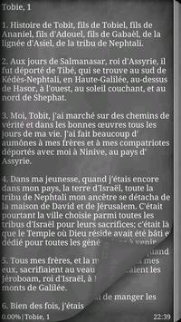 La Bible. Apocryphes apk screenshot