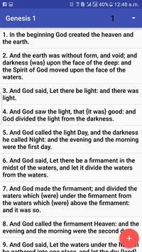 Webster Bible Free apk screenshot