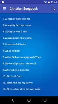 Christian Songbook Free apk screenshot
