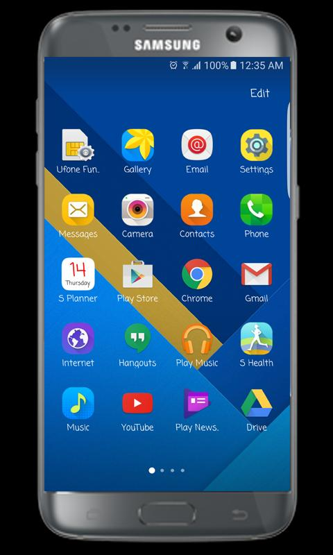 s7 launcher and s7 edge theme apk free personalization app for android apkpure