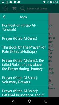 Sunan Abi Dawud apk screenshot