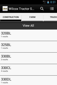 Wilcox Tractor Sales apk screenshot