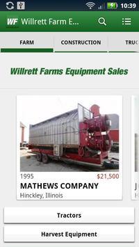 Willrett Farm Equipment poster