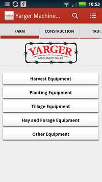 Yarger Machinery Sales poster