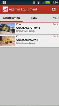 Aggmin Equipment apk screenshot