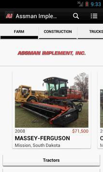 Assman Implement Inc. poster