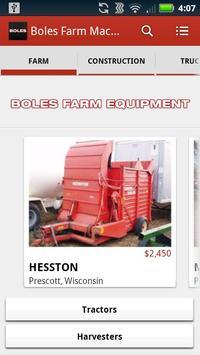 Boles Farm Machinery poster