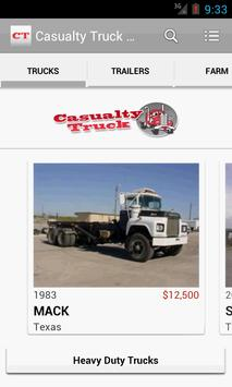 Casualty Truck Salvage poster