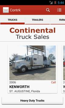 Continental Truck Sales poster