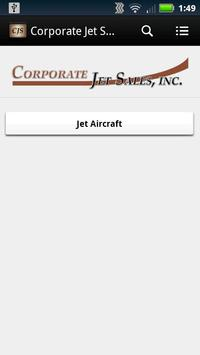Corporate Jet Sales poster