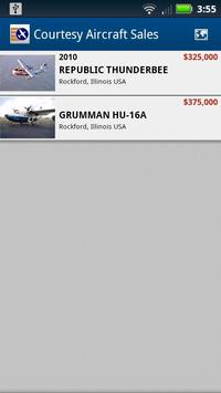 Courtesy Aircraft Sales apk screenshot